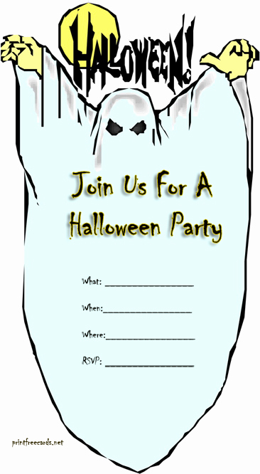 Free Printable Halloween Invitation Template Beautiful Free Halloween Invitations – Festival Collections