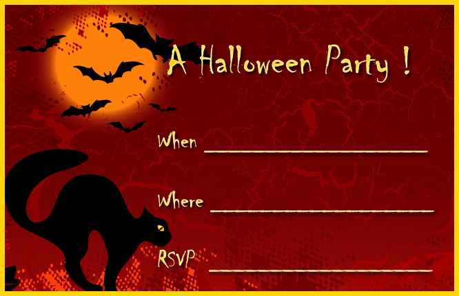 Free Printable Halloween Invitation Template Elegant 16 Awesome Printable Halloween Party Invitations