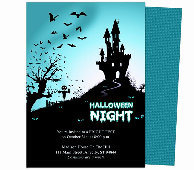 Free Printable Halloween Invitation Template Elegant 32 Best Halloween Party Invitations Diy Printable
