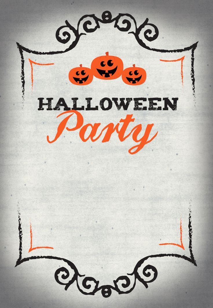 Free Printable Halloween Invitation Template Lovely Best 25 Halloween Party Invitations Ideas On Pinterest