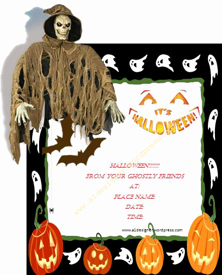 Free Printable Halloween Invitation Template Luxury Halloween Invitation Template
