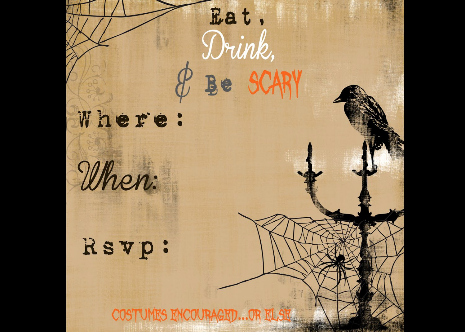 Free Printable Halloween Invitation Template Unique Free Halloween Invitation Templates Printable