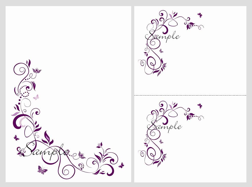 Free Printable Invitation Templates Beautiful Free Printable Dark Purple Wedding Invitation Templates