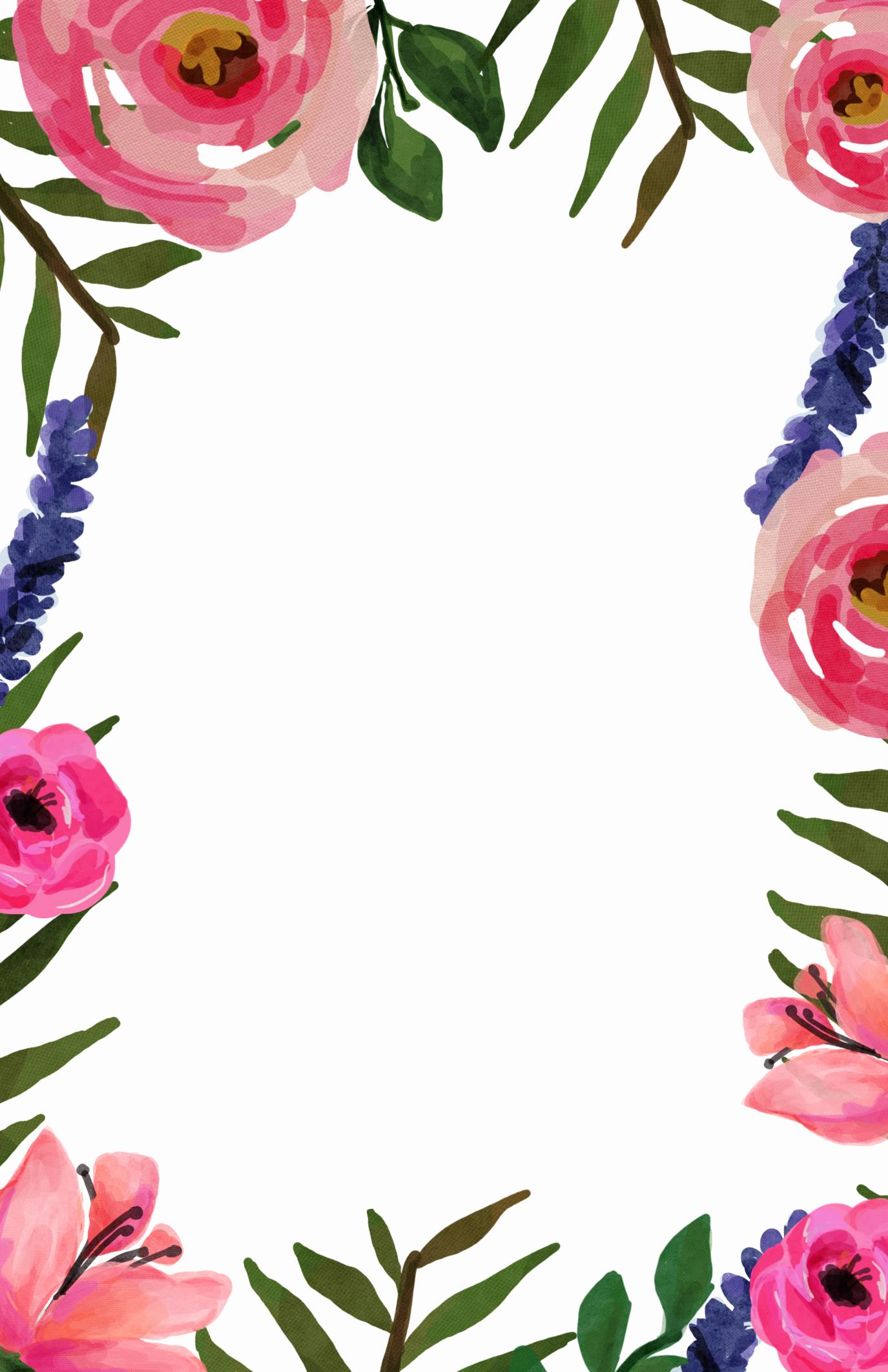 Free Printable Invitation Templates Luxury Floral Invitation Free Printable Invitation Templates
