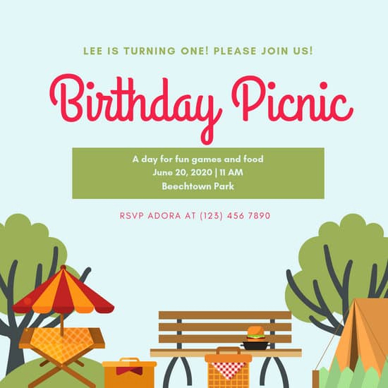 Free Printable Picnic Invitation Template Best Of Customize 61 Picnic Invitation Templates Online Canva