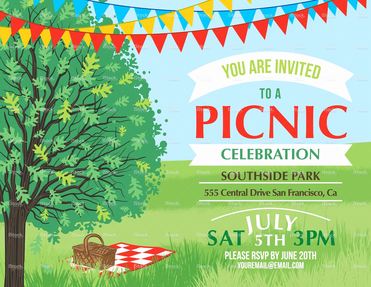 Free Printable Picnic Invitation Template Best Of Summer Picnic and Bbq Invitation Flyer or Template Text