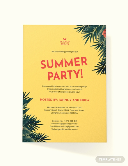 Free Printable Picnic Invitation Template Fresh Free Summer Picnic Party Invitation Template Download 513