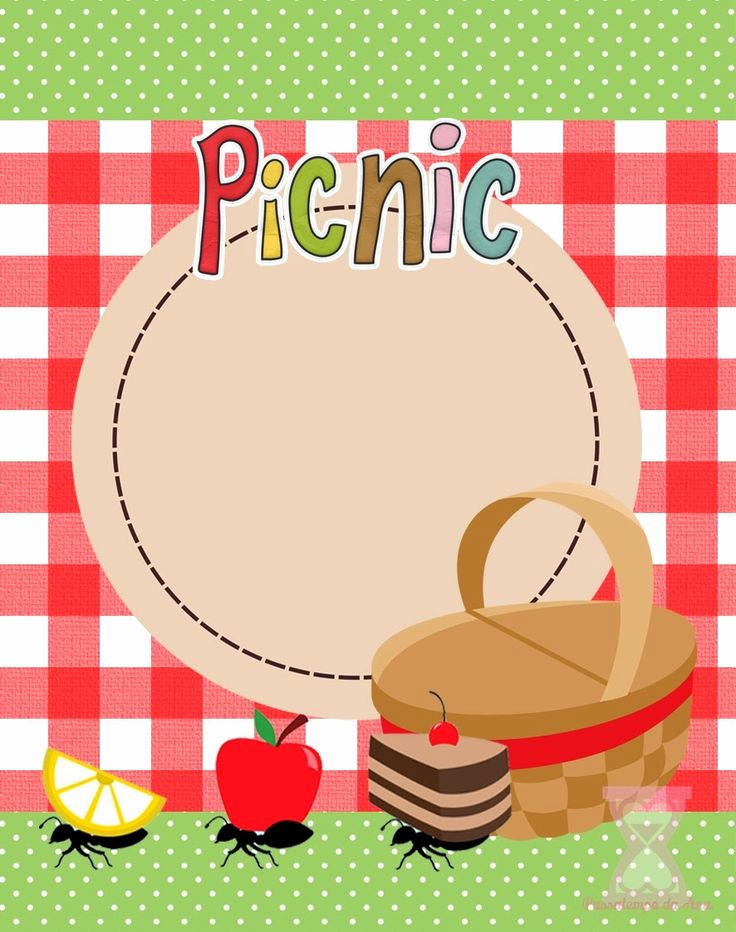 Free Printable Picnic Invitation Template Unique 82 Best Picnic Clipart Images On Pinterest