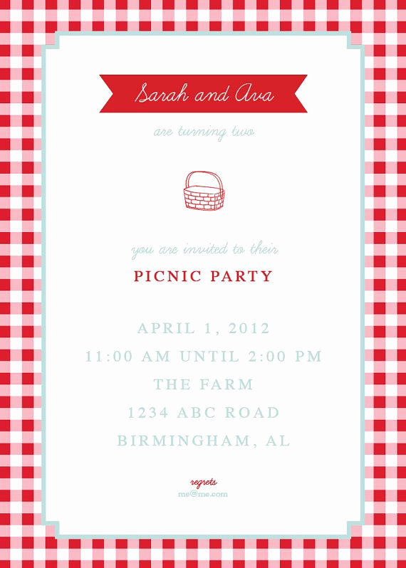 Free Printable Picnic Invitation Template Unique Picnic Invite by thepinwheelpress On Etsy $15 00