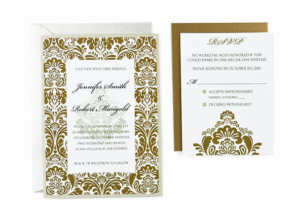 Free Printable Wedding Invitation Templates Best Of Damask Free Wedding Invitation Template