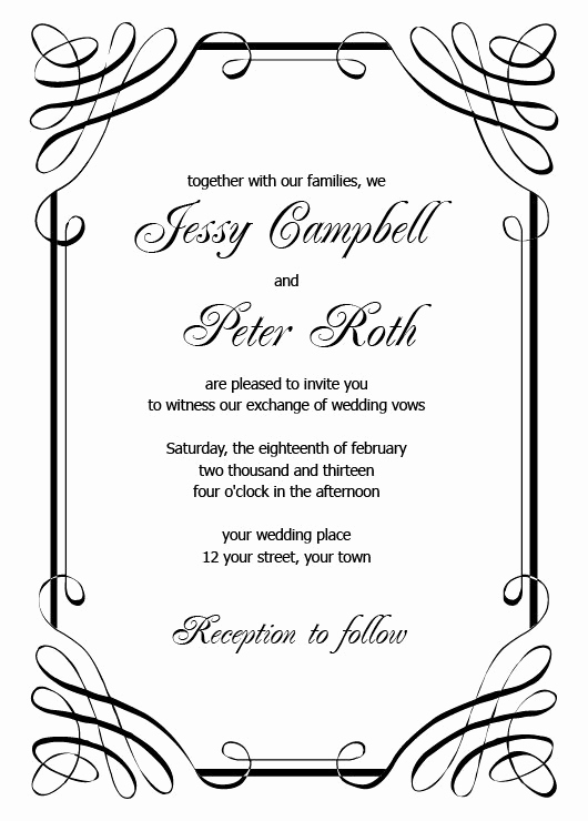 Free Printable Wedding Invitation Templates Lovely 1000 Ideas About Invitation Templates On Pinterest