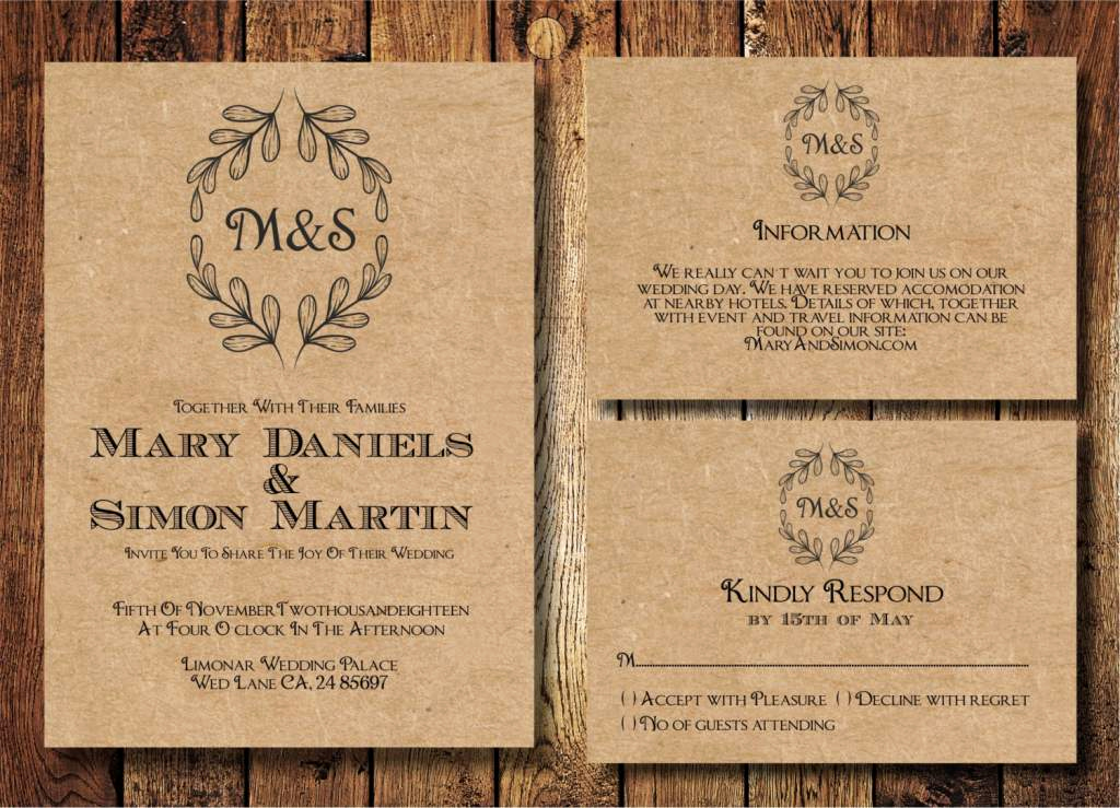 Free Rustic Wedding Invitation Templates Inspirational Country Wedding Invitation Templates Free