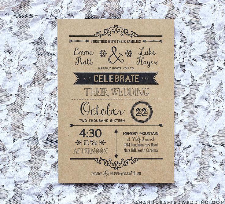 Free Rustic Wedding Invitation Templates Luxury Best 25 Invitation Templates Ideas On Pinterest