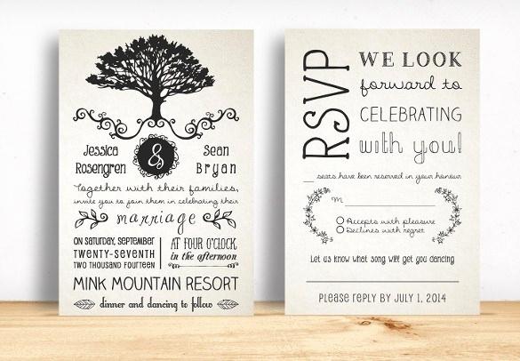 Free Rustic Wedding Invitation Templates Luxury Country Wedding Invitation Templates