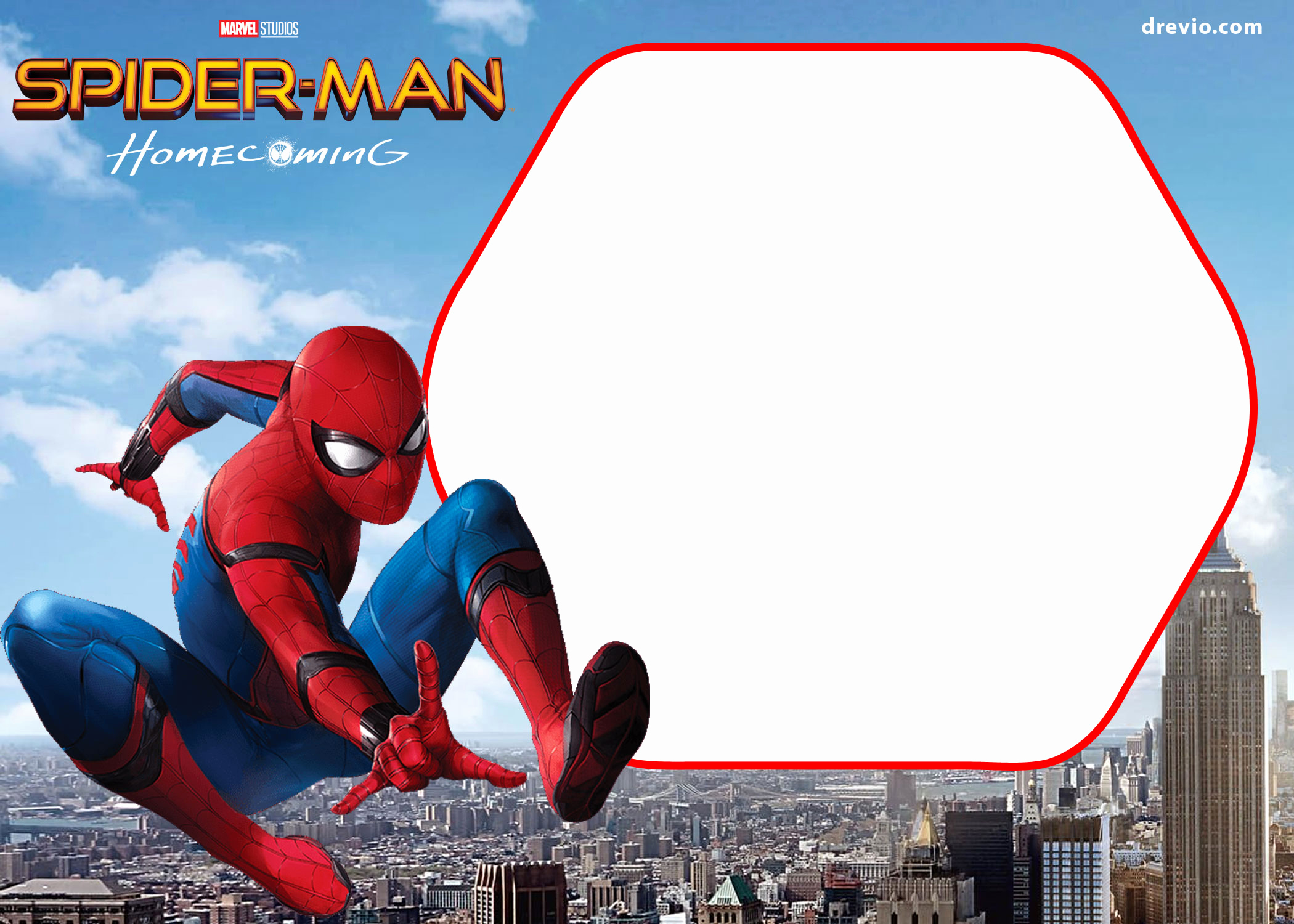 Free Spiderman Invitation Template Fresh Free Spiderman Home Ing Invitation Template