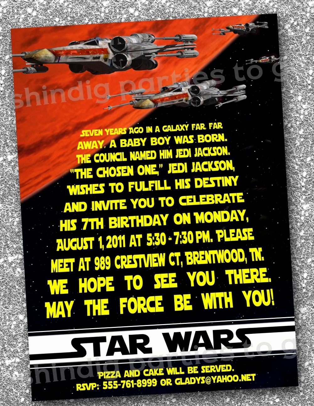 Free Star Wars Invitation Template Inspirational Star Wars Birthday Invitations Templates Free