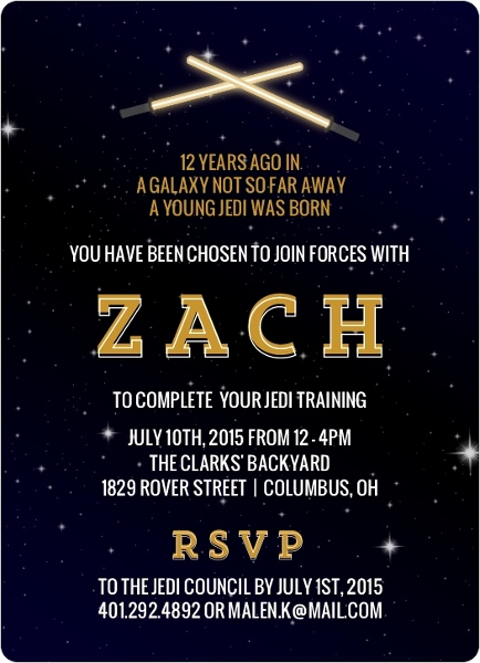 Free Star Wars Invitation Template New 32 Amazing Star Wars Birthday Invitations