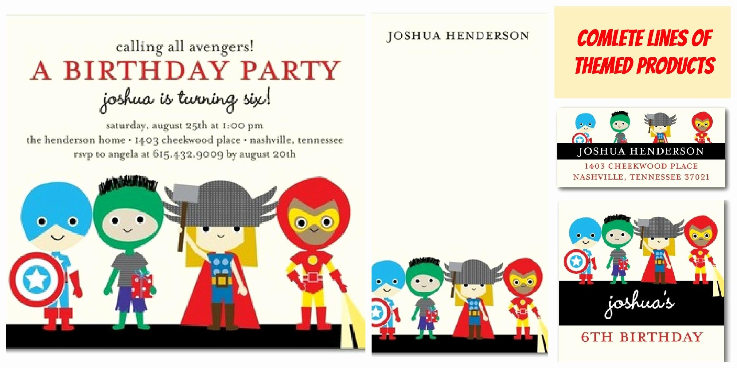 Free Superhero Invitation Template Fresh Traditional Superhero Birthday Party Invitations Templates