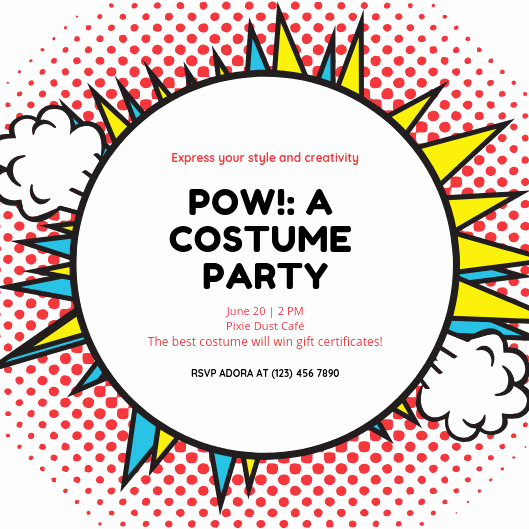 Free Superhero Invitation Templates Fresh Customize 101 Superhero Invitation Templates Online Canva