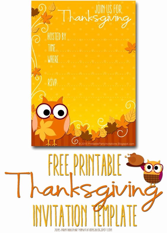 Free Thanksgiving Invitation Templates Awesome Thanksgiving Invitation Invitation Templates and