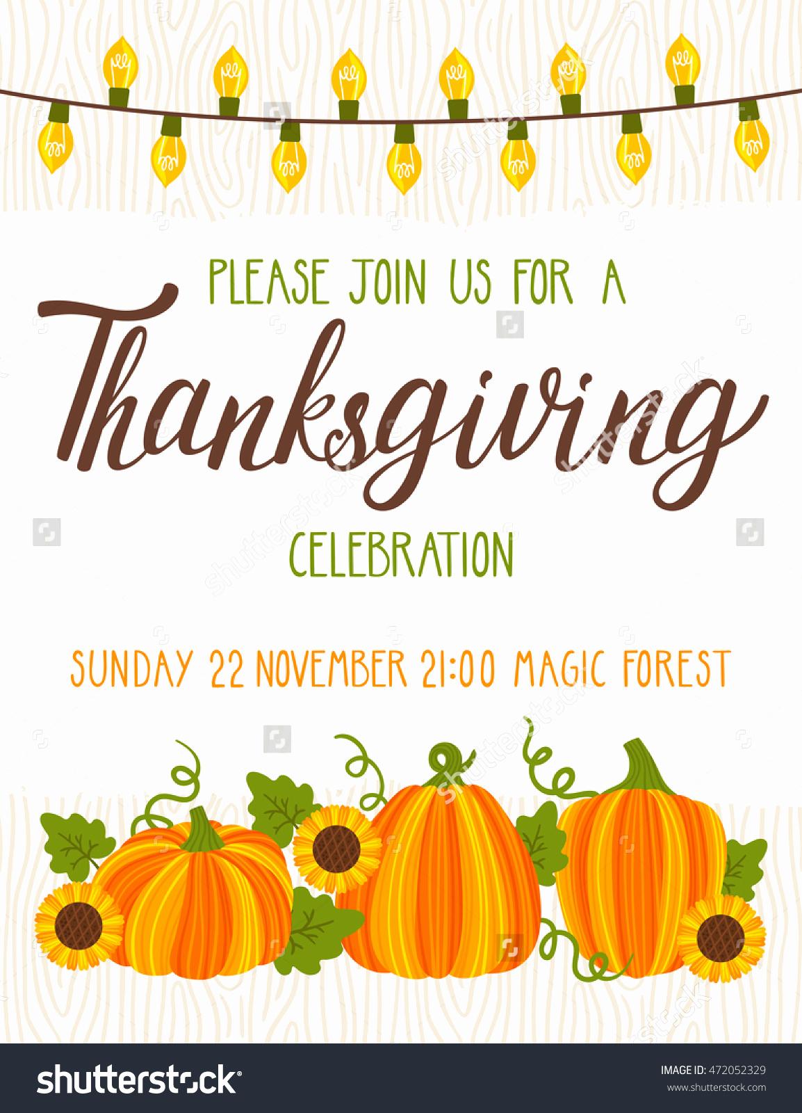 Free Thanksgiving Invitation Templates Beautiful Thanksgiving Dinner Invitation Templates