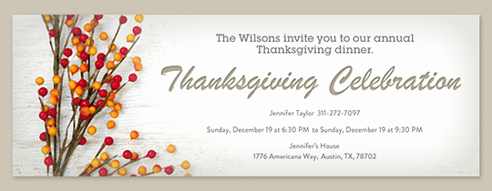 Free Thanksgiving Invitation Templates Best Of Free Line Thanksgiving Dinner Invitations