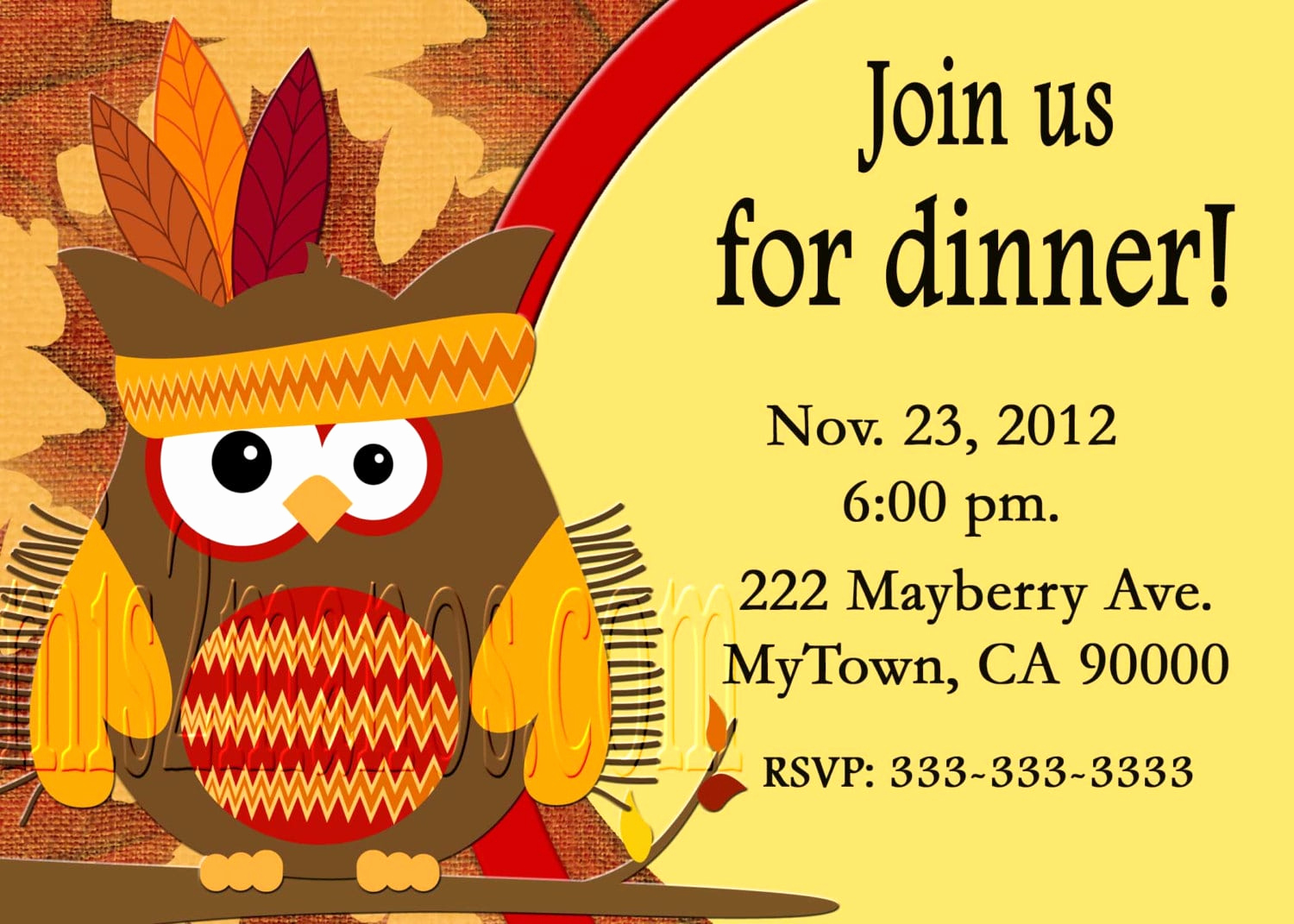 Free Thanksgiving Invitation Templates Lovely Free Thanksgiving Dinner Invitation Templates