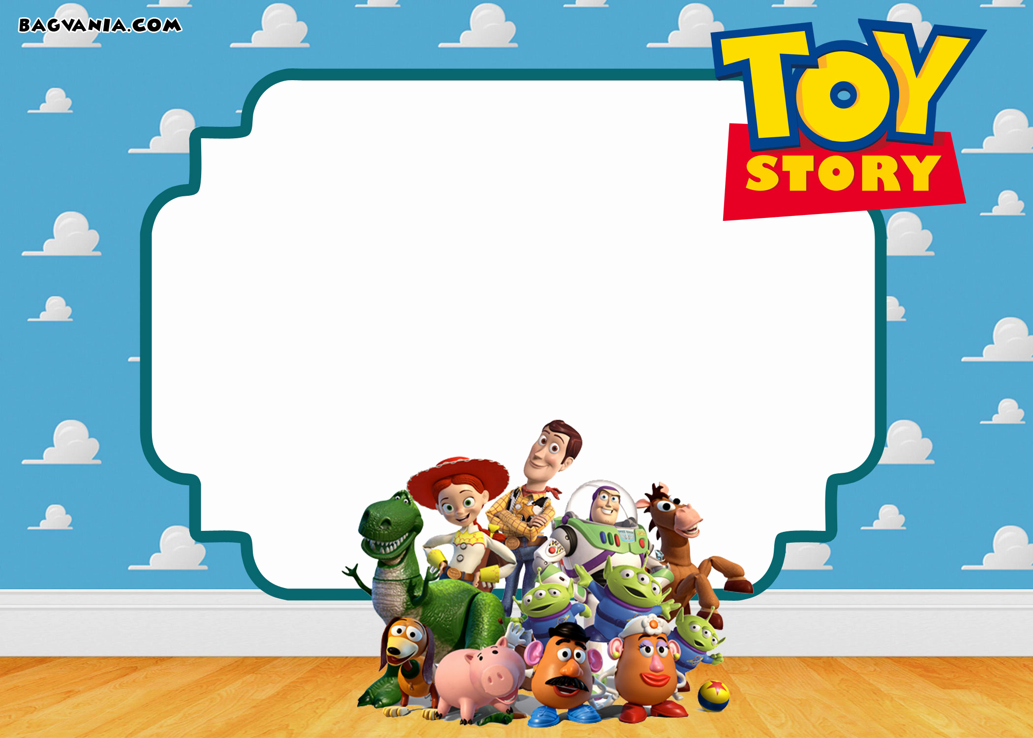 Free toy Story Invitation Template New Free Printable toy Story Birthday Invitations – Free