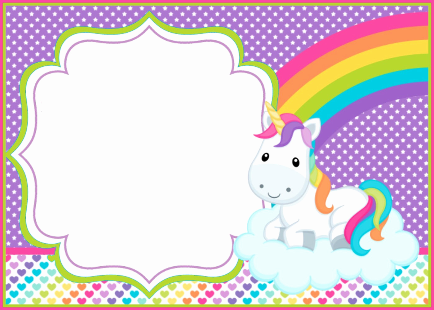 Free Unicorn Invitation Template Unique How You Can Make First Birthday Invitations Special