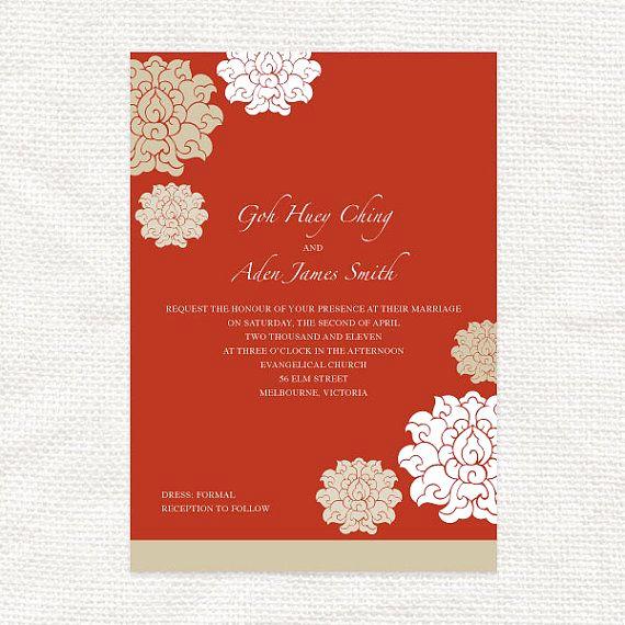 Free Vietnamese Wedding Invitation Template Fresh Best 25 Chinese Wedding Invitation Ideas On Pinterest