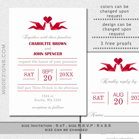 Free Vietnamese Wedding Invitation Template Fresh Items Similar to Printable Wedding Invitation Template