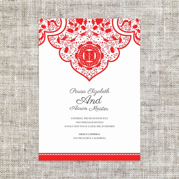 Free Vietnamese Wedding Invitation Template Inspirational 17 Best Ideas About Chinese Wedding Invitation On
