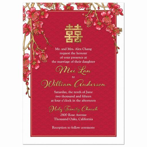Free Vietnamese Wedding Invitation Template Lovely Best 25 Chinese Wedding Invitation Ideas On Pinterest