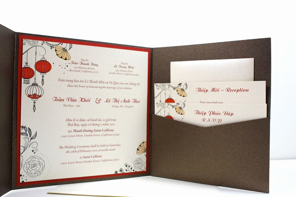 Free Vietnamese Wedding Invitation Template Luxury for Emily Rsvp Cards