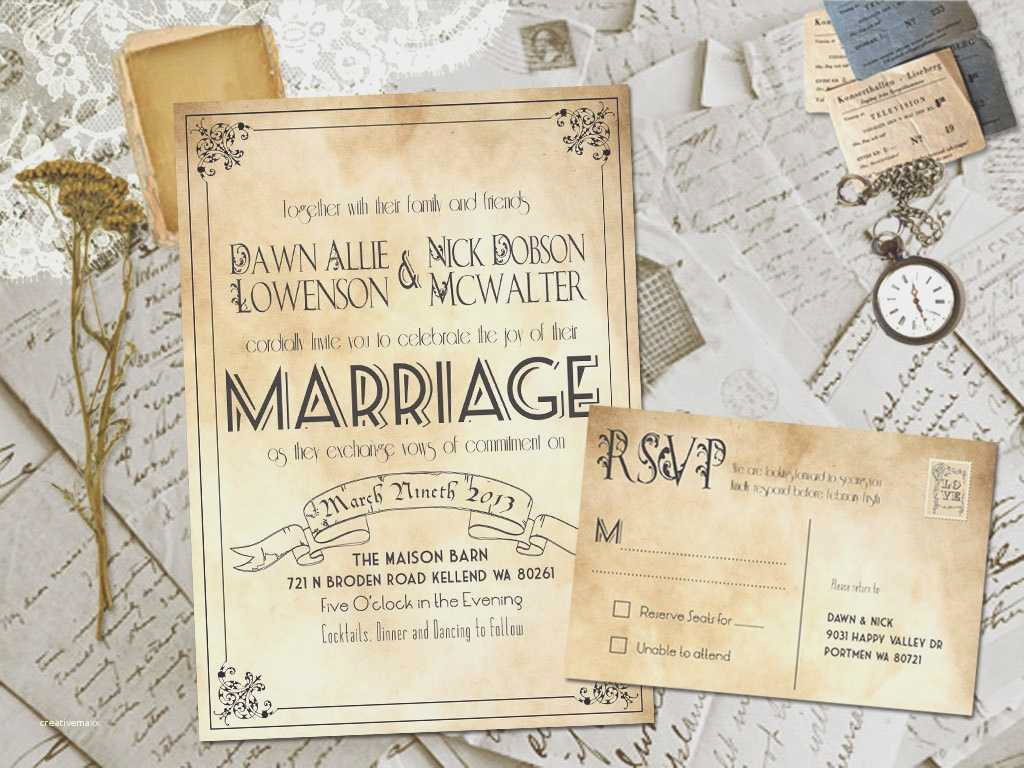 Free Vintage Wedding Invitation Templates Best Of New Blank Vintage Wedding Invitation Templates Creative
