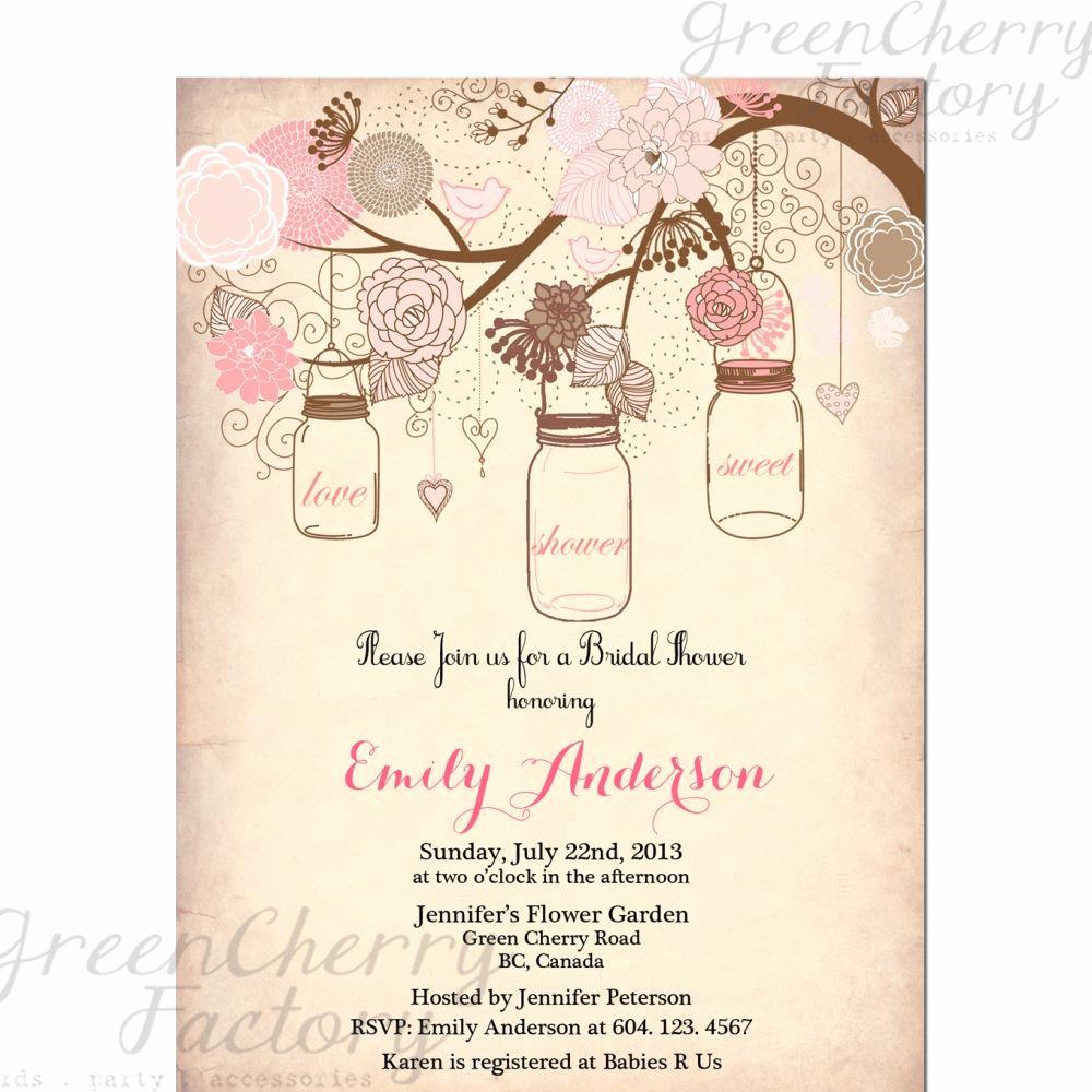 Free Vintage Wedding Invitation Templates Fresh Vintage Bridal Shower Invitation Templates Free
