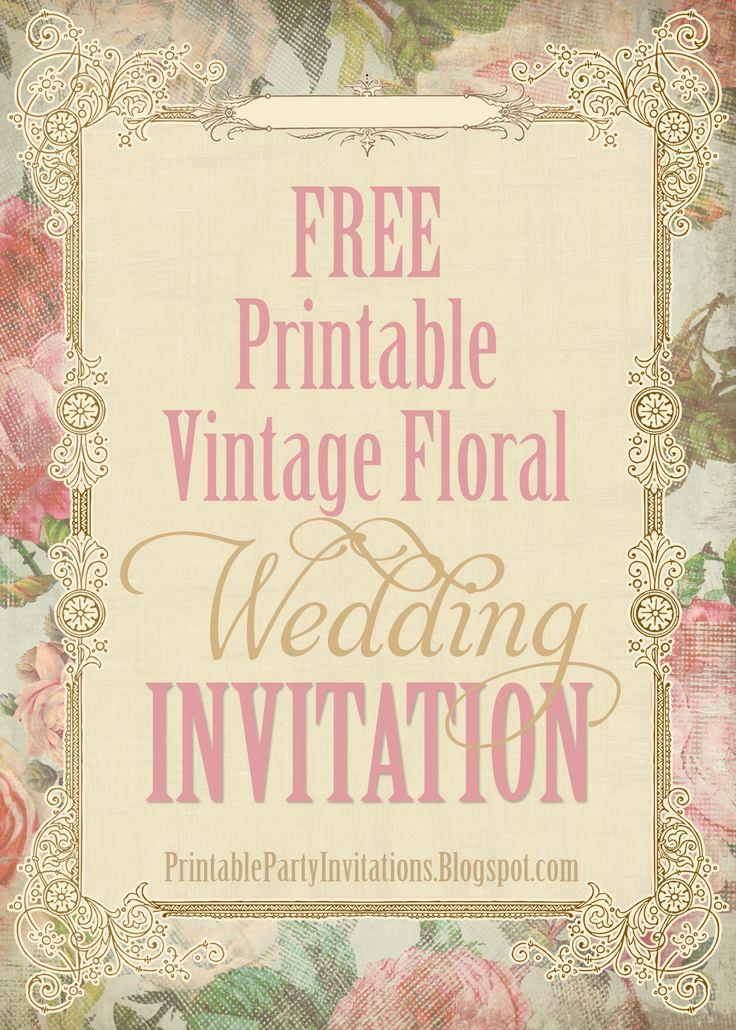 Free Vintage Wedding Invitation Templates Luxury 1000 Ideas About Victorian Wedding themes On Pinterest