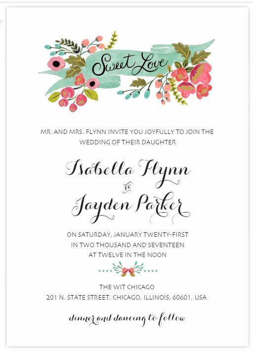 Free Wedding Invitation Printable Templates New 9 top Places to Find Free Wedding Invitation Templates In