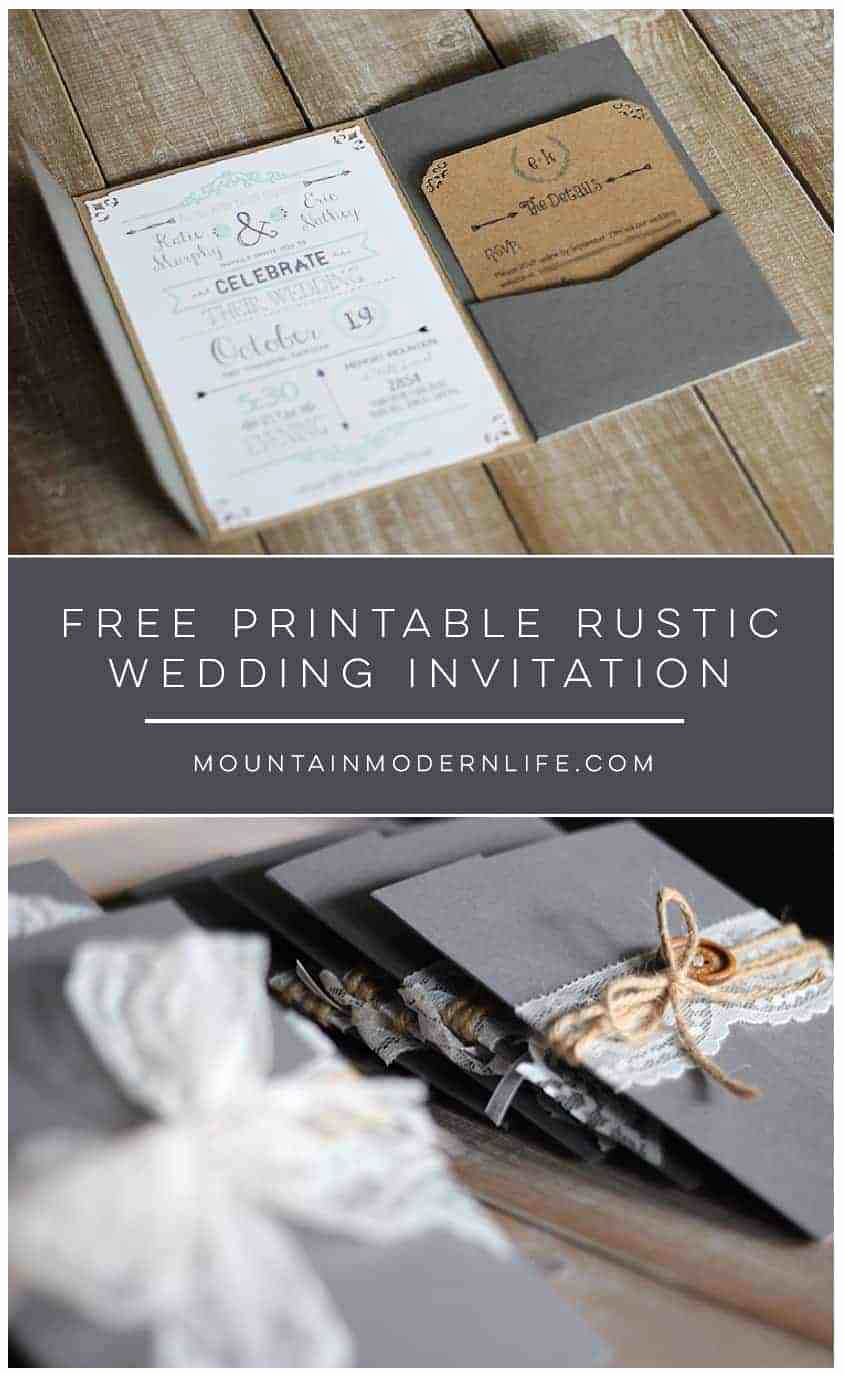 Free Wedding Invitation Printable Templates New Free Wedding Invitation Template