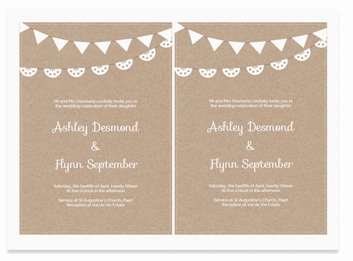 Free Wedding Invitation Templates Beautiful Free Printable Wedding Invitation Template