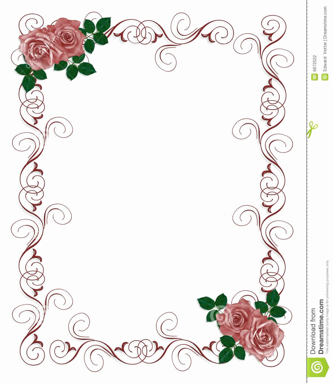 Free Wedding Invitation Templates Download Beautiful Floral Blank Wedding Invitation Templates