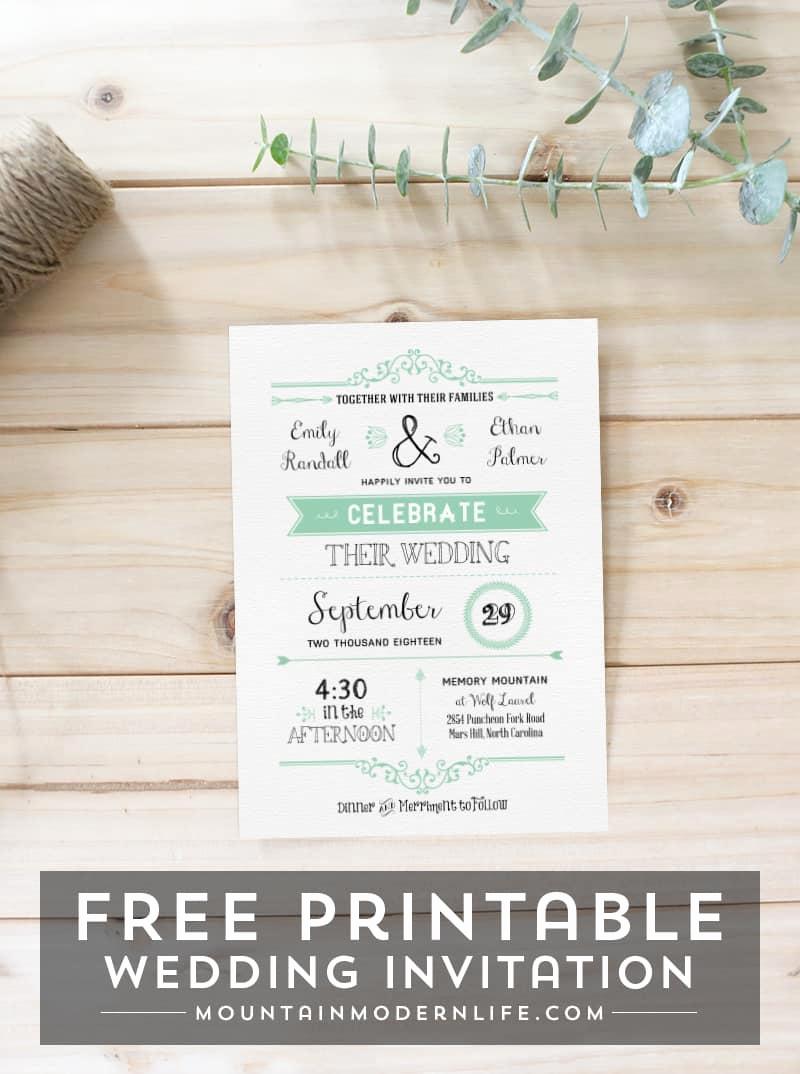 Free Wedding Invitation Templates Download Fresh Free Wedding Invitation Template