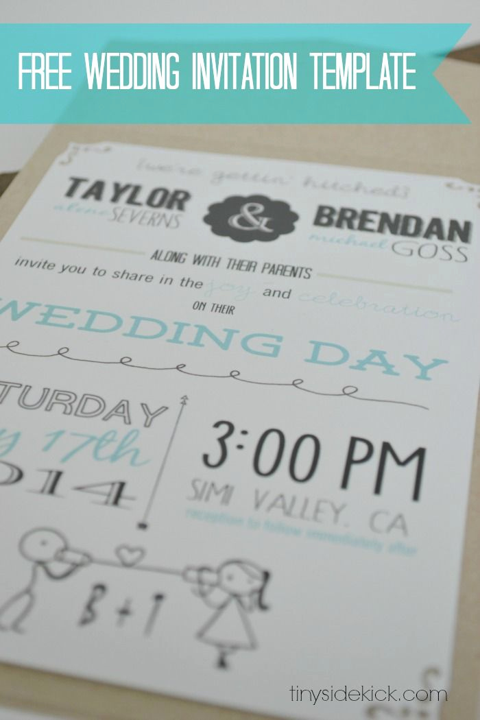 Free Wedding Invitation Templates Fresh Customizable Wedding Invitation Template with Inserts
