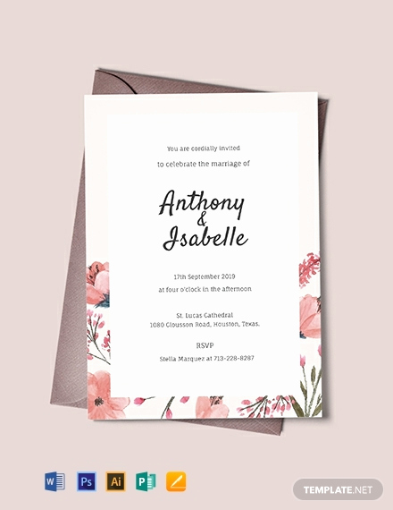 Free Wedding Invitation Templates Inspirational 1099 Free Invitation Templates Pdf Word