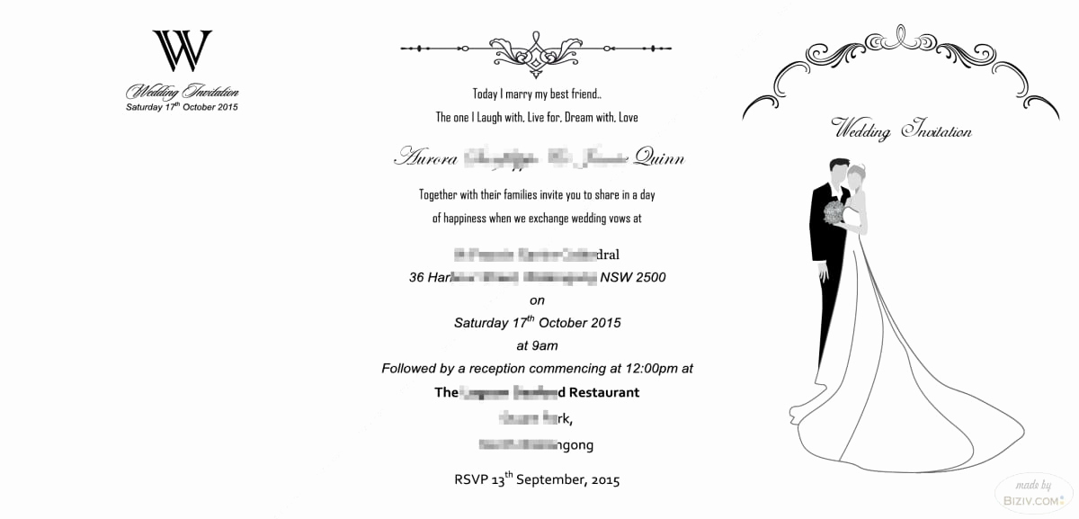 Free Wedding Invitation Templates New Free Printable Blank Wedding Invitation Templates