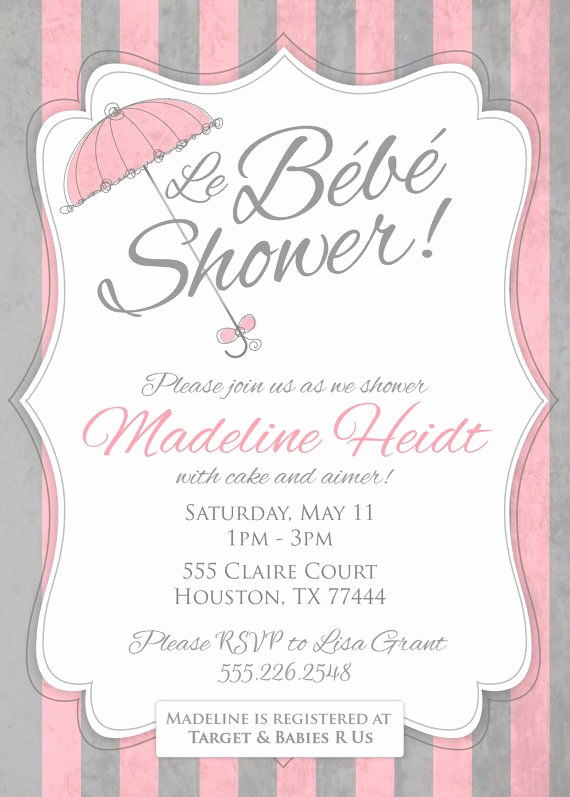 French Baby Shower Invitation Fresh Best 25 French Baby Showers Ideas On Pinterest