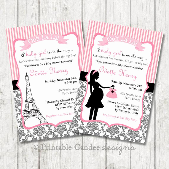 French Baby Shower Invitation Unique Paris Baby Shower Invitation Paris Baby Shower Paris