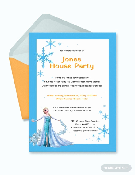 Frozen Birthday Invitation Template Best Of 13 Frozen Invitation Templates Word Psd Ai