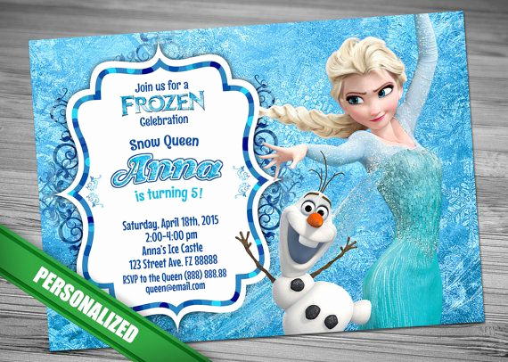 Frozen Birthday Invitation Template Elegant 25 Best Ideas About Disney Frozen Invitations On