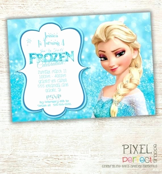 Frozen Birthday Invitation Template Fresh Best 25 Free Frozen Invitations Ideas On Pinterest